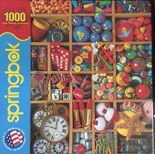 SPRINGBOK Puzzle 1000 pc jigsaw Tiny Treasures 2013