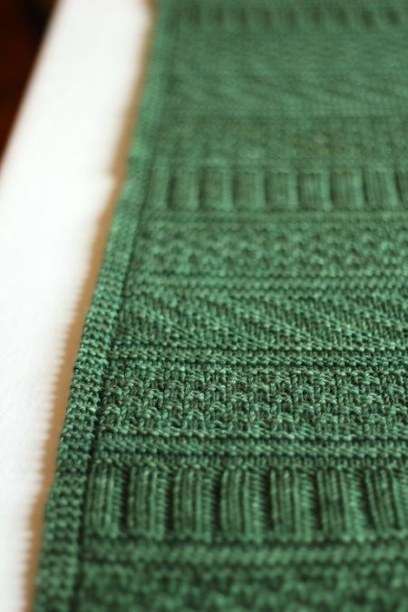 Tutorial for a sewn casting off - it looks nice and seems easy to do. The pictured is Guersney Wrap, pattern available from Ravelry.