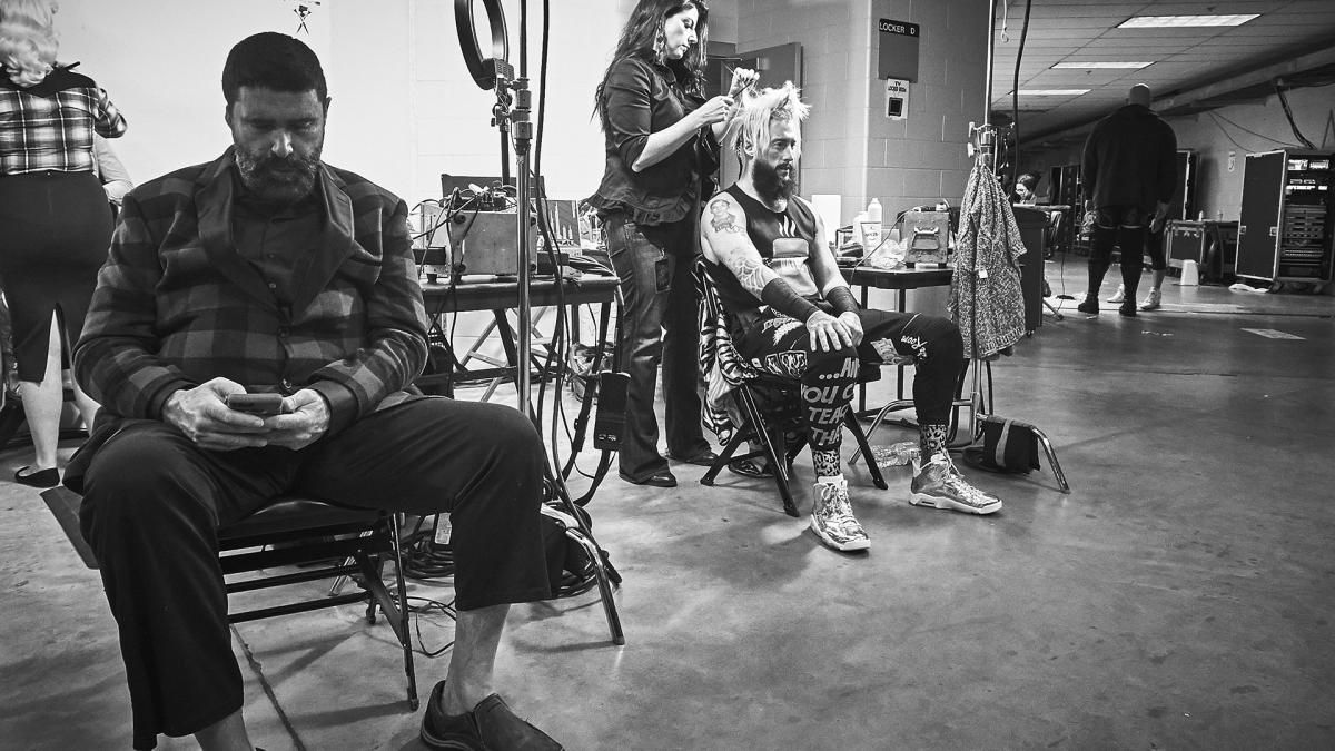 Photos: Go backstage at Royal Rumble with Cena, Reigns ...