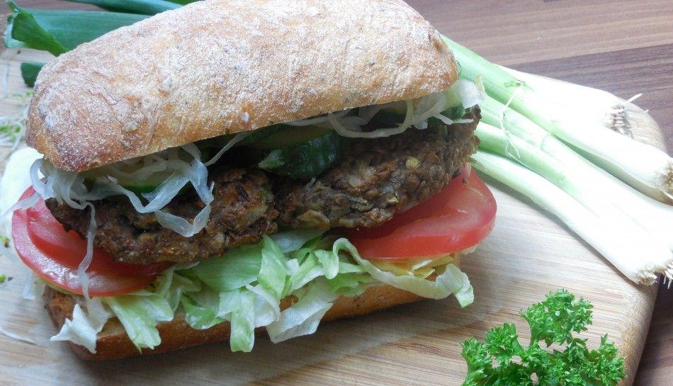Vegan Recipes | Grilled Lentil Burgers | Veganuary 2015