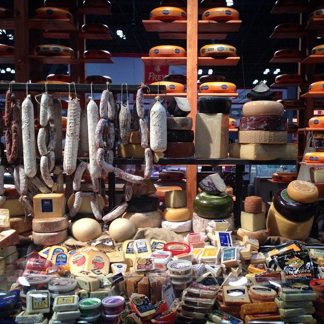 """""""This must be a dream. A beautiful, cheese-filled, #fancyfoodshow dream."""" Photo taken by @saveurmag on Instagram, pinned via the InstaPin iOS App! http://www.instapinapp.com (06/30/2015)"""