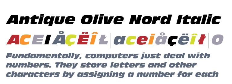 Antique Olive Nord