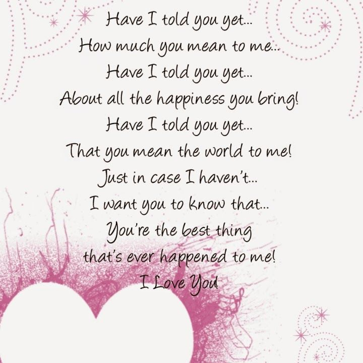 Valentines day Poems for him | Valentines Day | Love poems ...