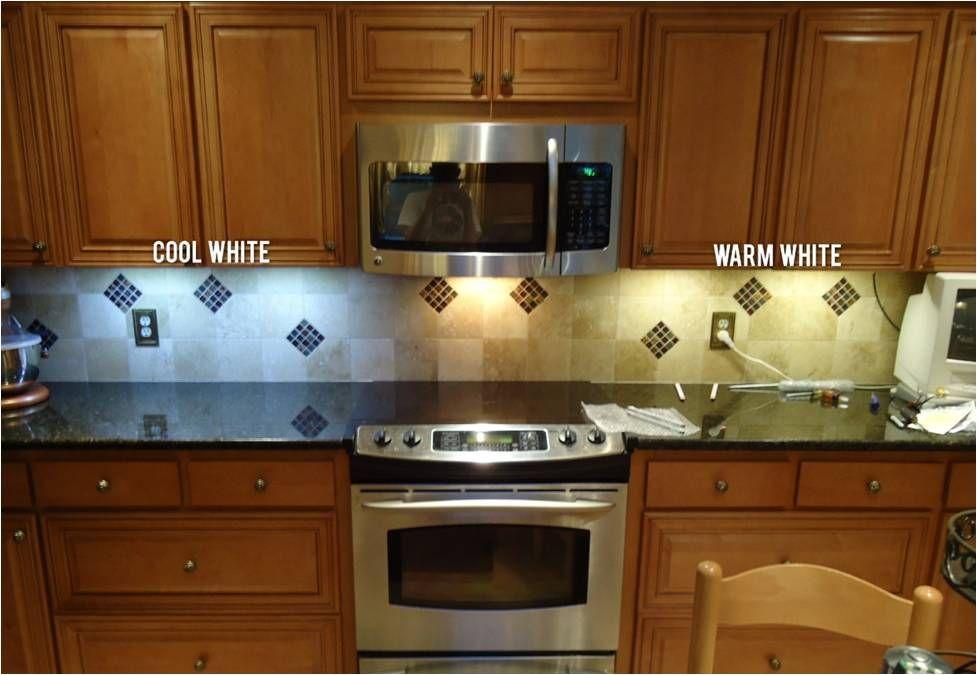 Color Temperature In Led Under Cabinet Lighting Led Under