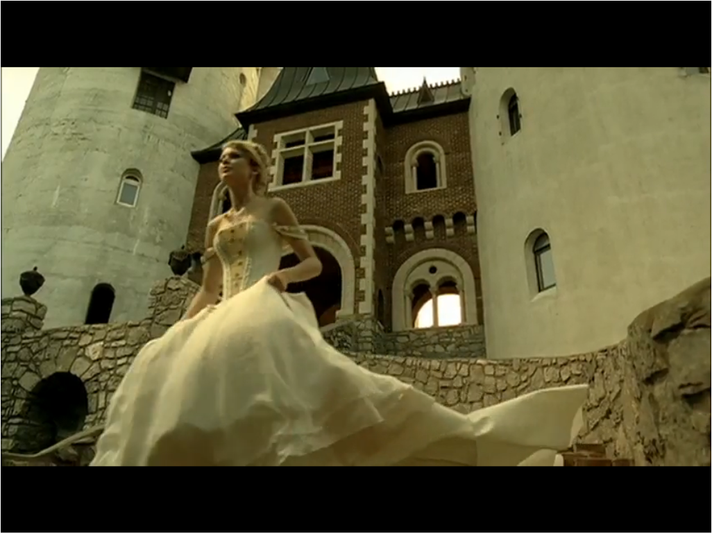 from Taylor Swift Love story...nice dress ) Mermaid