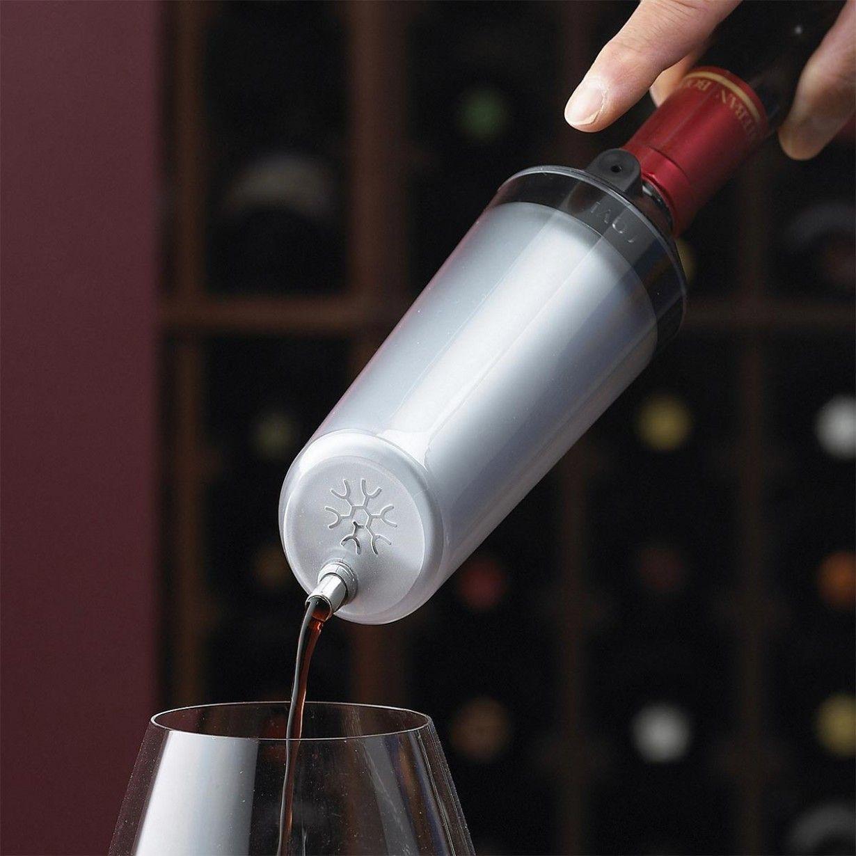 Wein sofort kühlen mit diesem Weinkühler - http://dietollstensachen ...