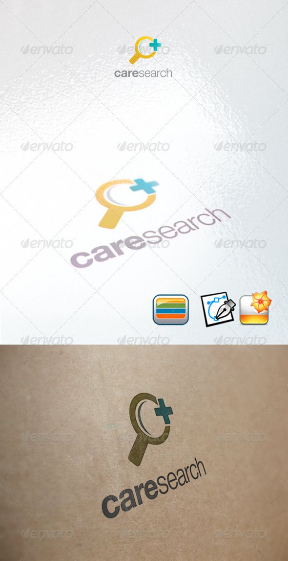 Care Search  #GraphicRiver         Clear Vector Logo Could be used for businesses and needs, easy to edit and made any change you may want   EPS version included. name of the font helvetica or arial     Created: 20February12 GraphicsFilesIncluded: VectorEPS Layered: Yes MinimumAdobeCSVersion: CS Resolution: Resizable Tags: color #cross #design #glass #health #home #logo #medical #new #post #search #union #web
