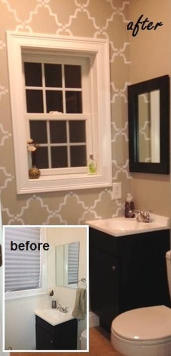 before after mirror makeover blog designer kate hart customer creativity one fabulous - Mirrormate Frames