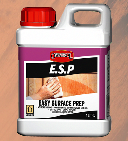 E S P Easy Surface Prep Makes Painting On Difficult Surfaces