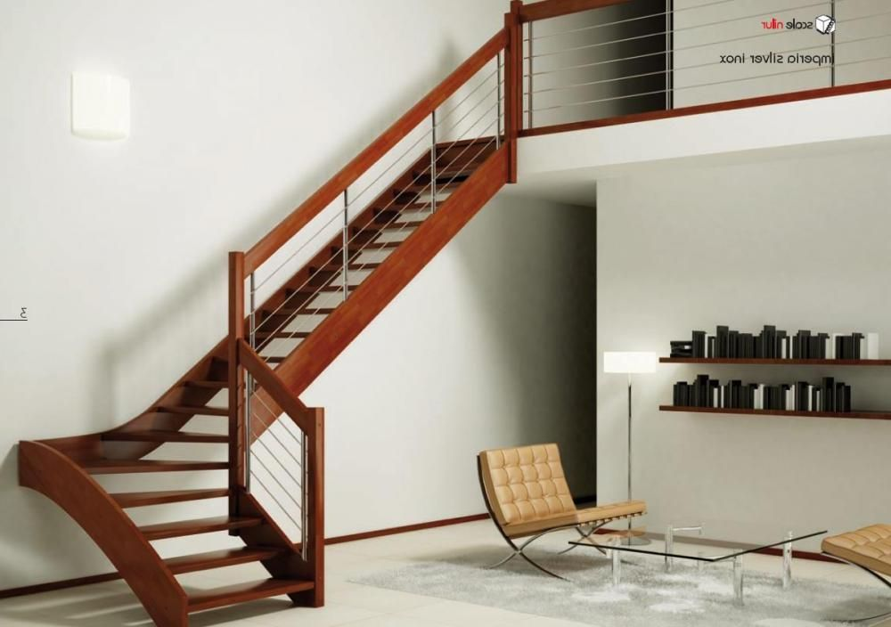 Wooden Staircase Ideas L Shaped Model Staircase Design For Small