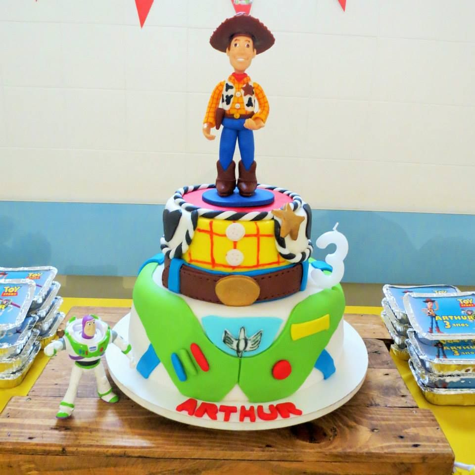 Bolo Toy Story #Bolo #Cake #CakeDesign #ToyStory #KidsParty #PartyIdeas #Party #FestanaEscola