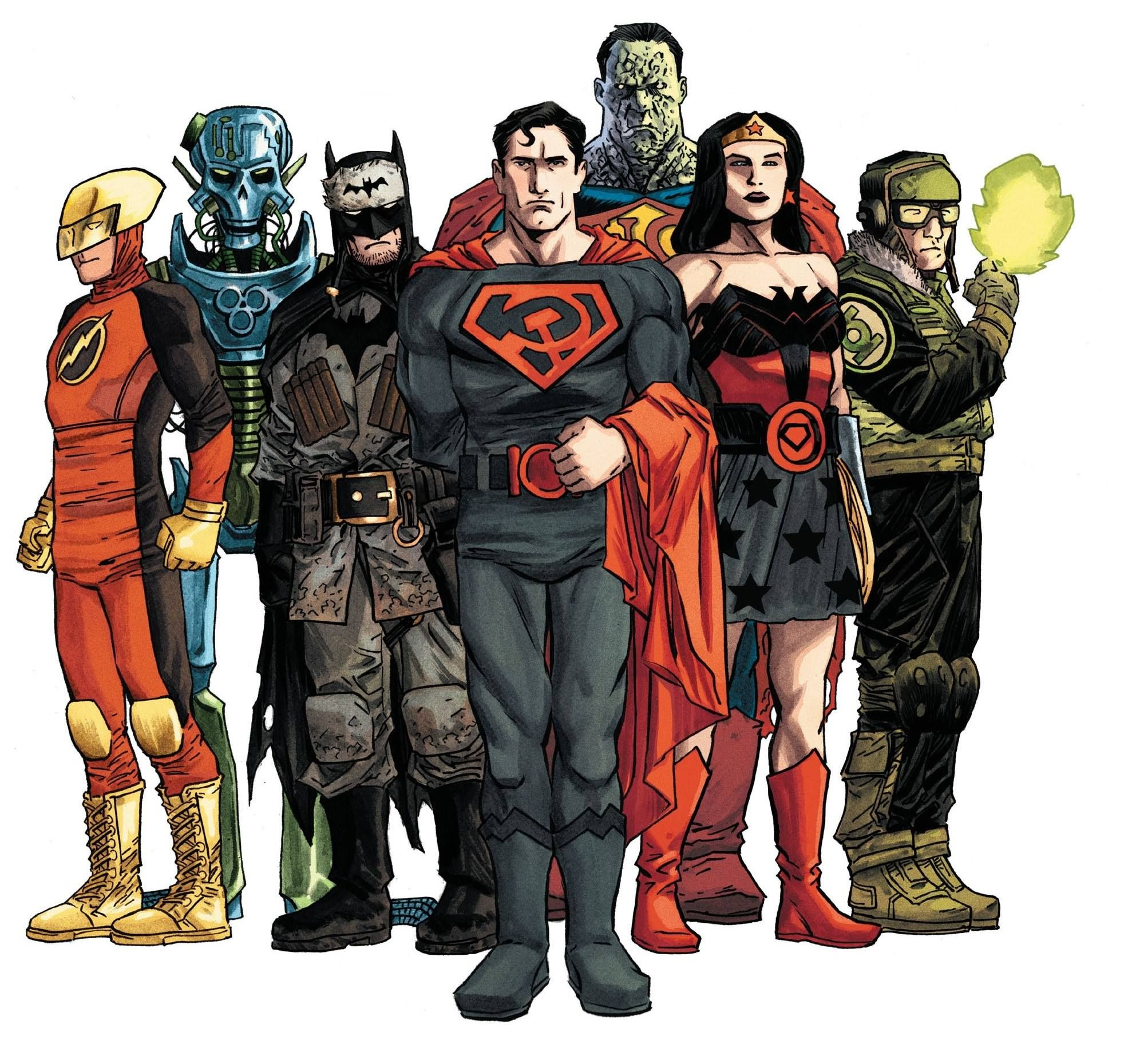 The Multiversity: Earth-29 by Declan Shalvey, colours by Jordie Bellaire *