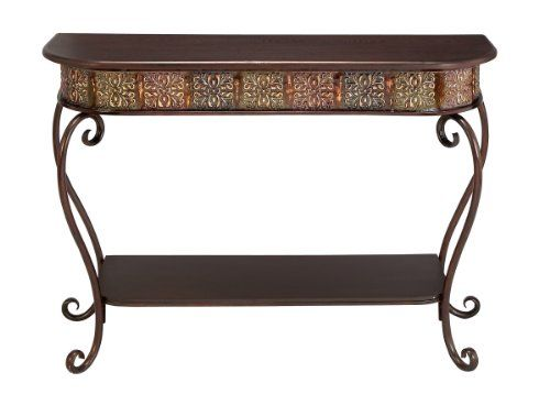 Deco 79 74362 Metal Wood Console Table, 32\u0027 x 43\u0027 ** Details can be