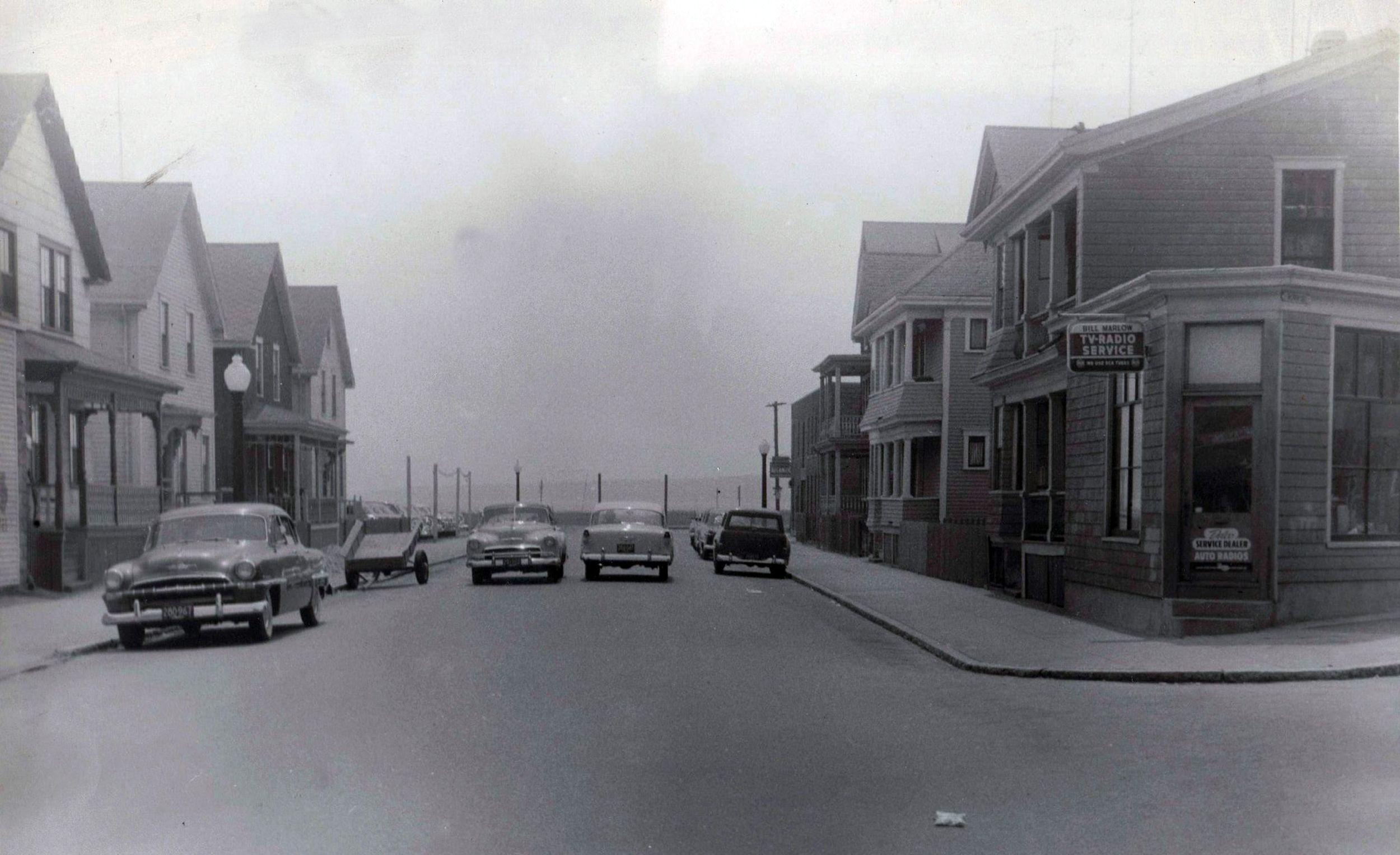 1957 New Bedford South End Www Whalingcity Net New Bedford Bedford Massachusetts Bedford