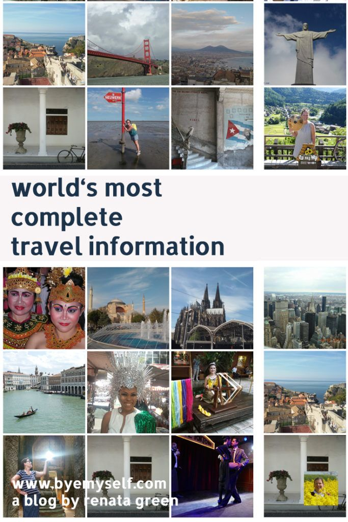 Everything you need to know before and during your travels - no matter from where to where you are going, here you find the answer to every question that might occur and help with every issue. #travelinformation #legal #health #conversion #traveltips #travelhacks #worldwide #byemyself #byemyselftravels