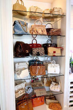Hand Bag Heaven! Yolanda Foster knows her stuff!