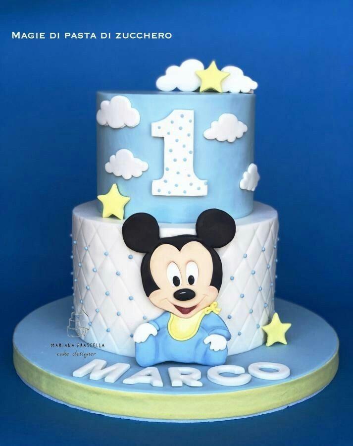 baby mickey mouse cake design Pin von Marceline Araújo auf Minnie e Topolino  Kuchen baby