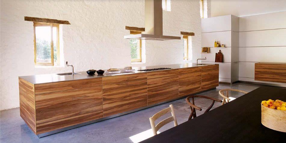 Résultat de recherche dimages pour cuisine bois massif moderne
