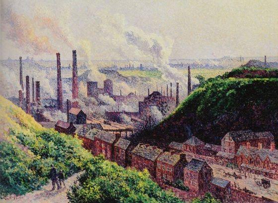 工場の煙突 マクシミリアン・リュス