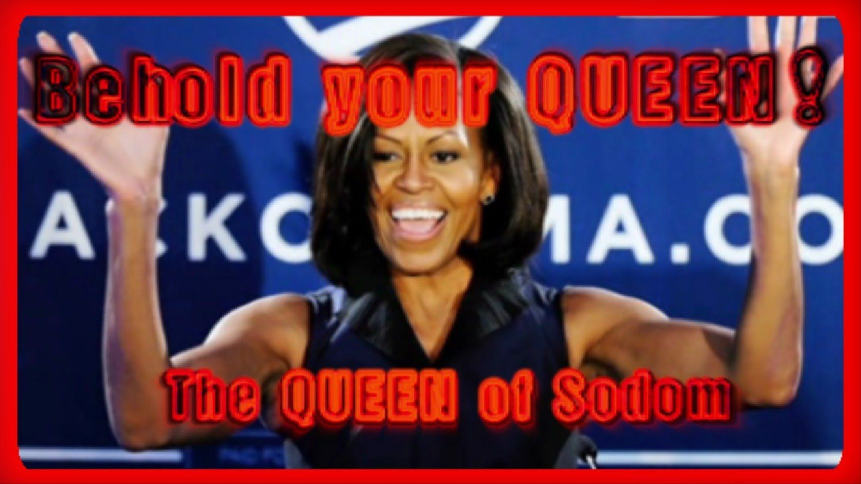 YouTube BANS VIRAL VIDEO that EXPOSES Michelle Obama as a TRANSEXUAL ...