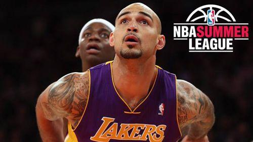 Robert Sacre La Lakers Summer League 2013 Roster La Lakers Lakers Los Angeles Lakers