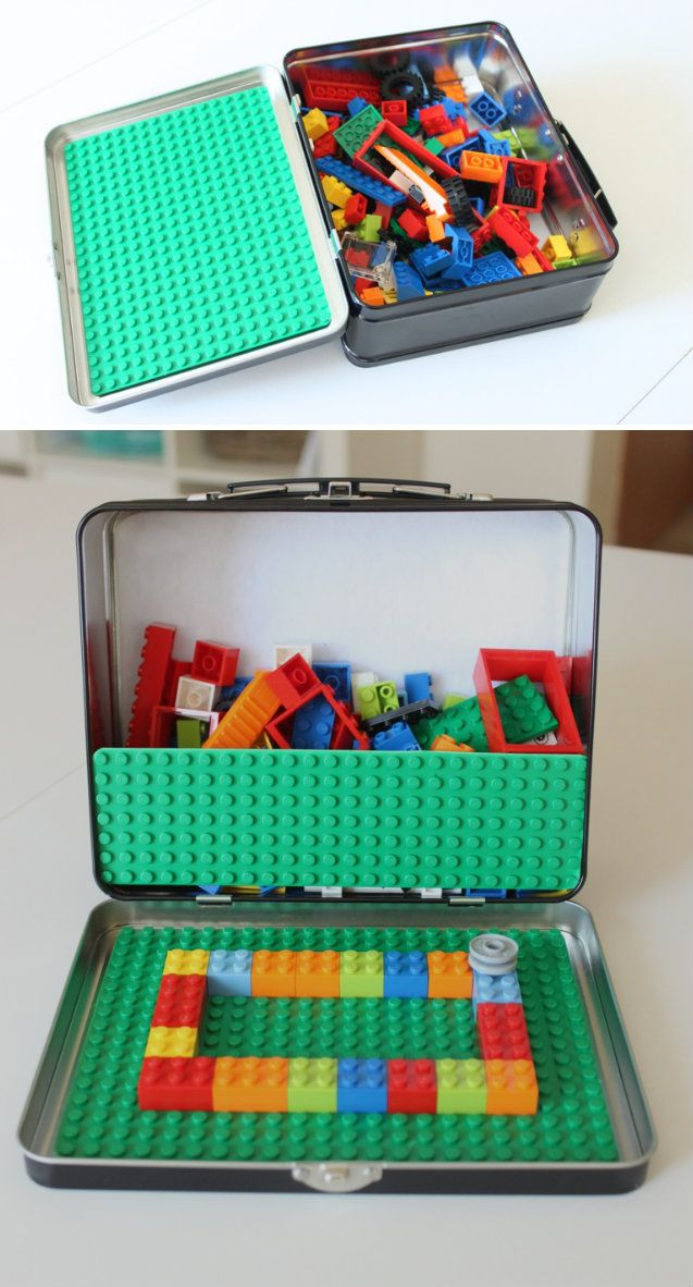 Portable Lego Kit Lego kits, Diy for kids, Activities