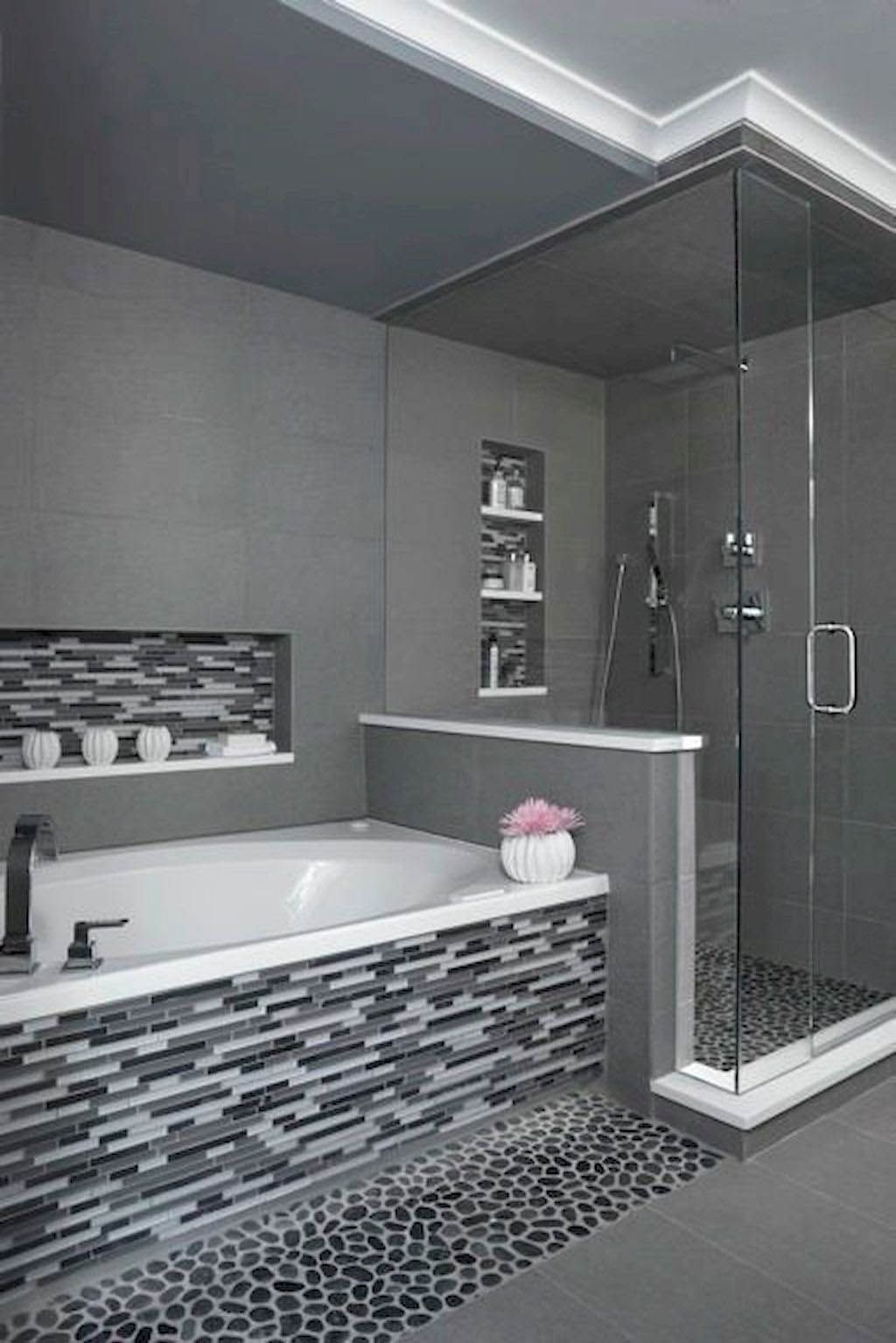 There Is Actually A Small Bathroom Design Revolution As Well As You Ll Love These Rule Breaking Trends Bathroom Remodel Shower Bathroom Remodel Master Master Bathroom Shower