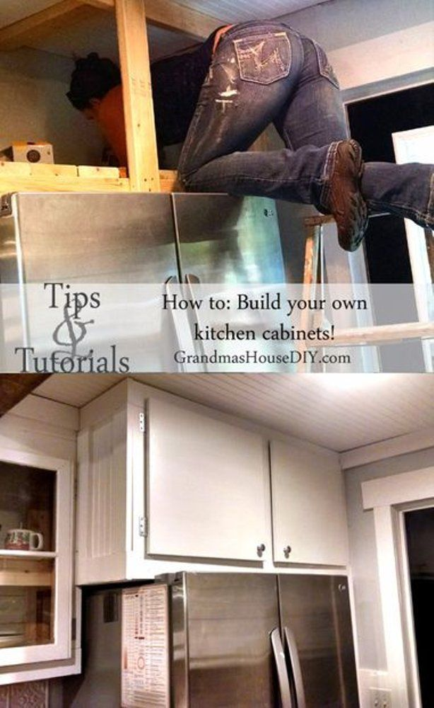 how to build your own kitchen cabinets | building kitchen