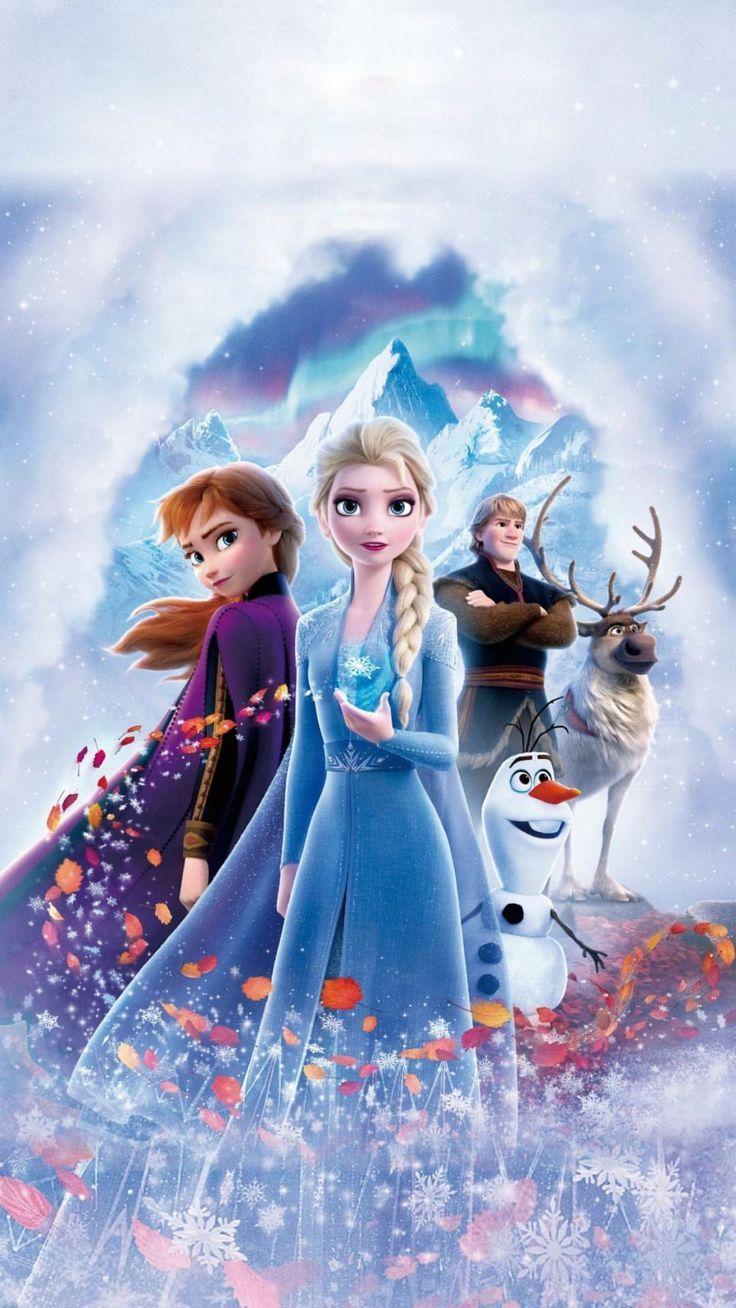 Frozen 2 2019 Phone Wallpaper ディズニー壁紙 プリンセス