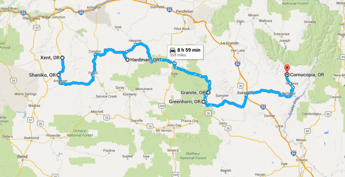 Ghost Towns In Oregon Map.This Haunting Road Trip Through Oregon Ghost Towns Is One You Won T