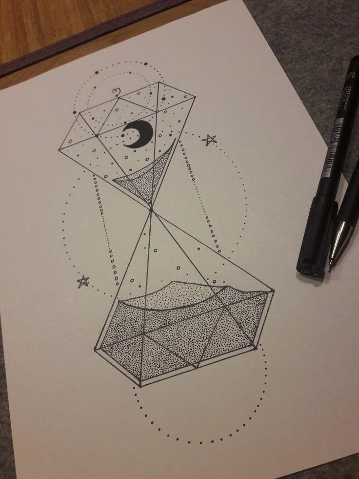 Doodle Sanduhr⏳❤ - #doodle #kawaii #Sanduhr