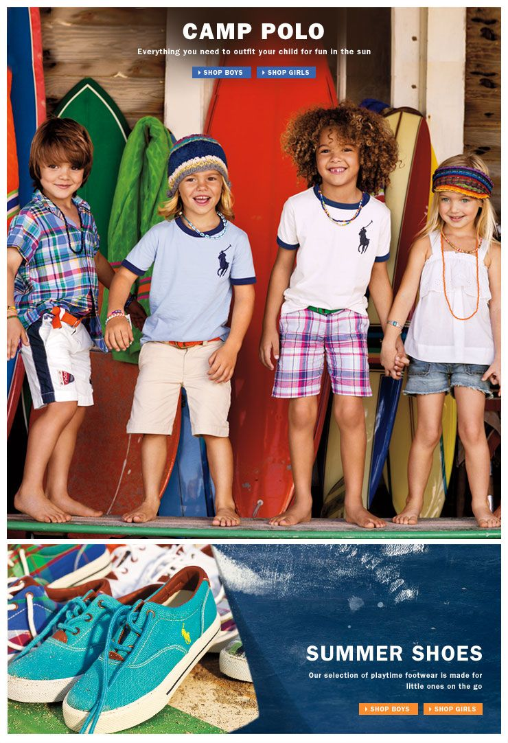 Looks - New summer kids collection by ralph lauren video