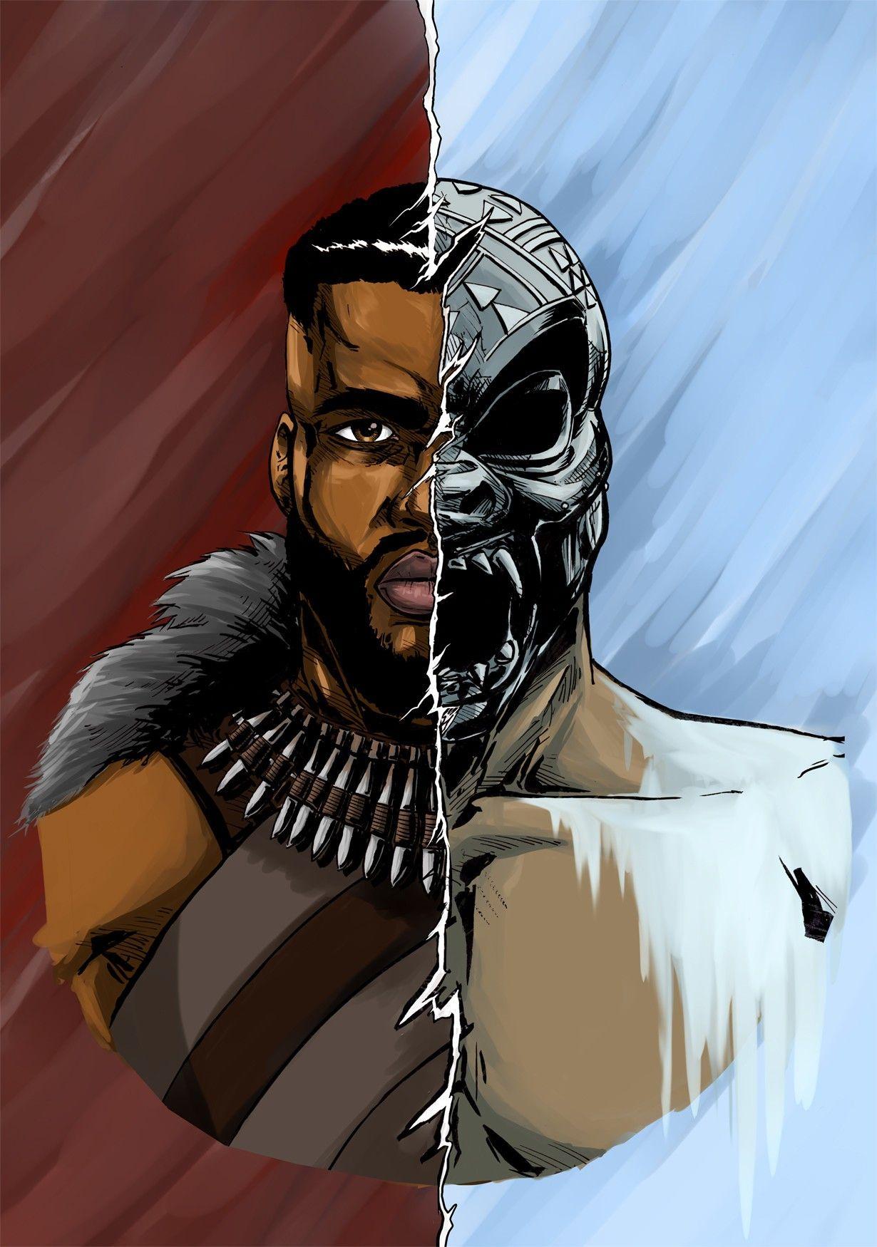 Black Panther M Baku T Challa Black Panther Marvel Black Panther Art Black Panther