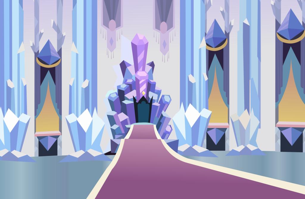 Crystal Throne by *HampshireukBrony on deviantART