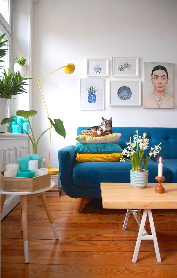 Hochstaplerin wohnideen wohnzimmer wohnen und - Bilderwand wohnzimmer ...
