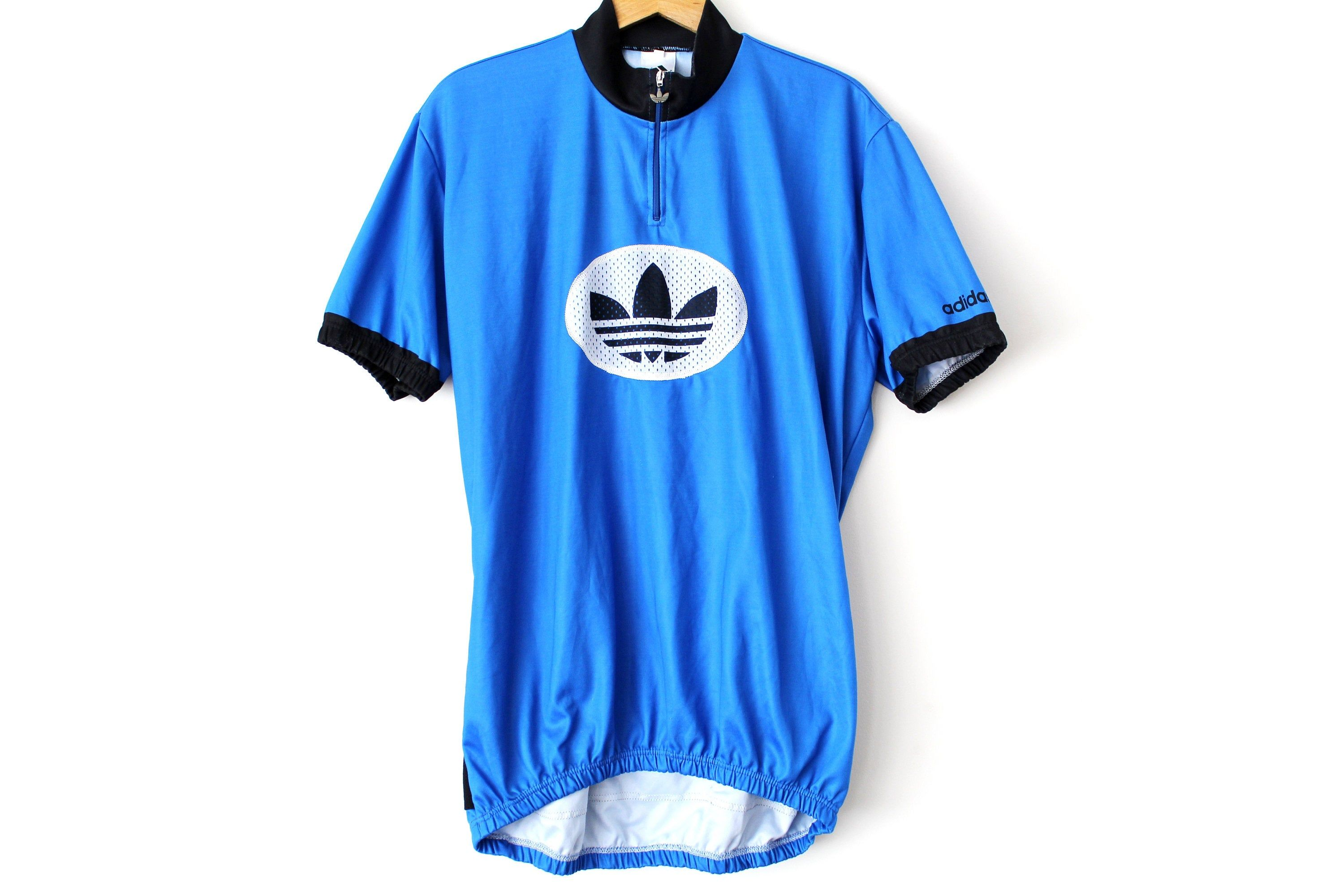 Vintage Adidas Cycling Jersey Made In Italy Bicycle Jersey Cycling Shirt Retro Bike Riding Top Activewear Cyc Cycling Shirt Vintage Adidas Cycling Jersey [ 2000 x 3000 Pixel ]