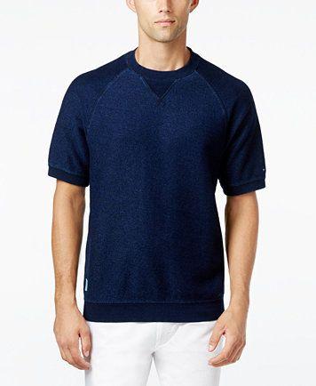 Tommy Hilfiger Men's Cameron Knit Short-Sleeve Shirt - Hoodies & Sweatshirts - Men - Macy's