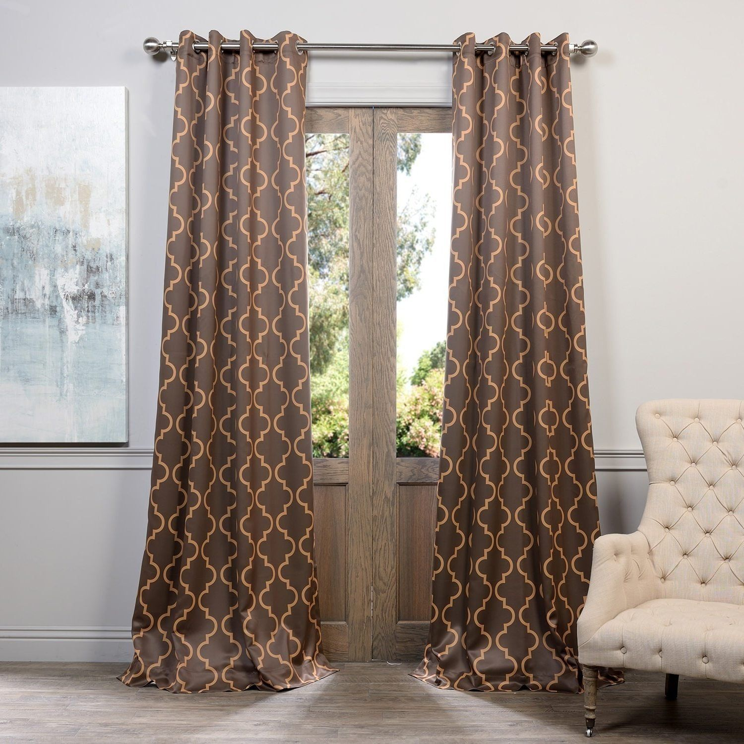 faux this look curtains curtain panel of pin a set take gray moroccan tulle silk at
