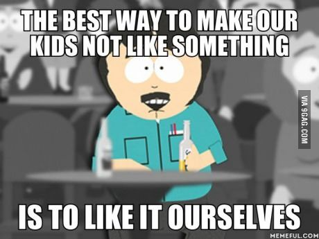 Randy Marsh knows why people are leaving facebook.
