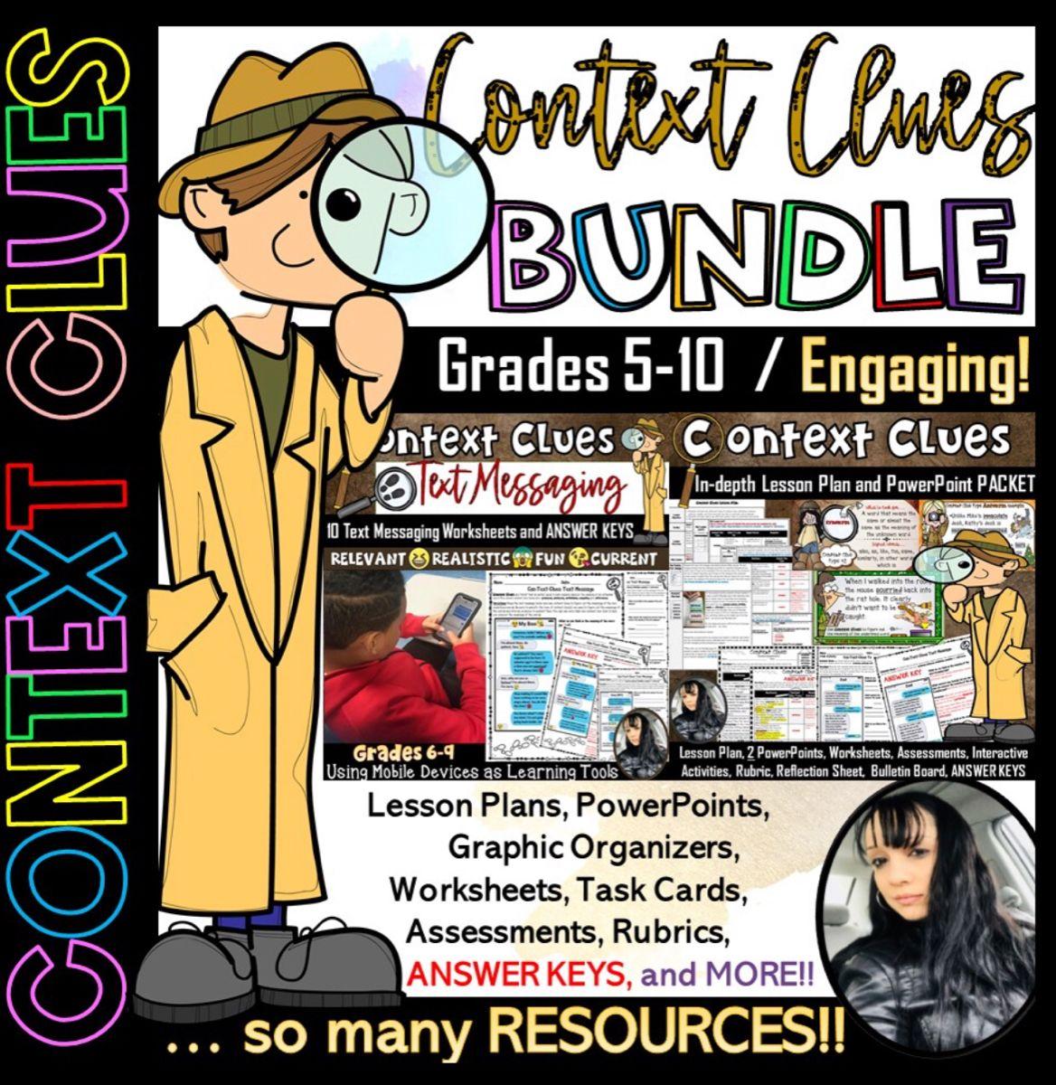 Context Clues Bundle 243 Pages