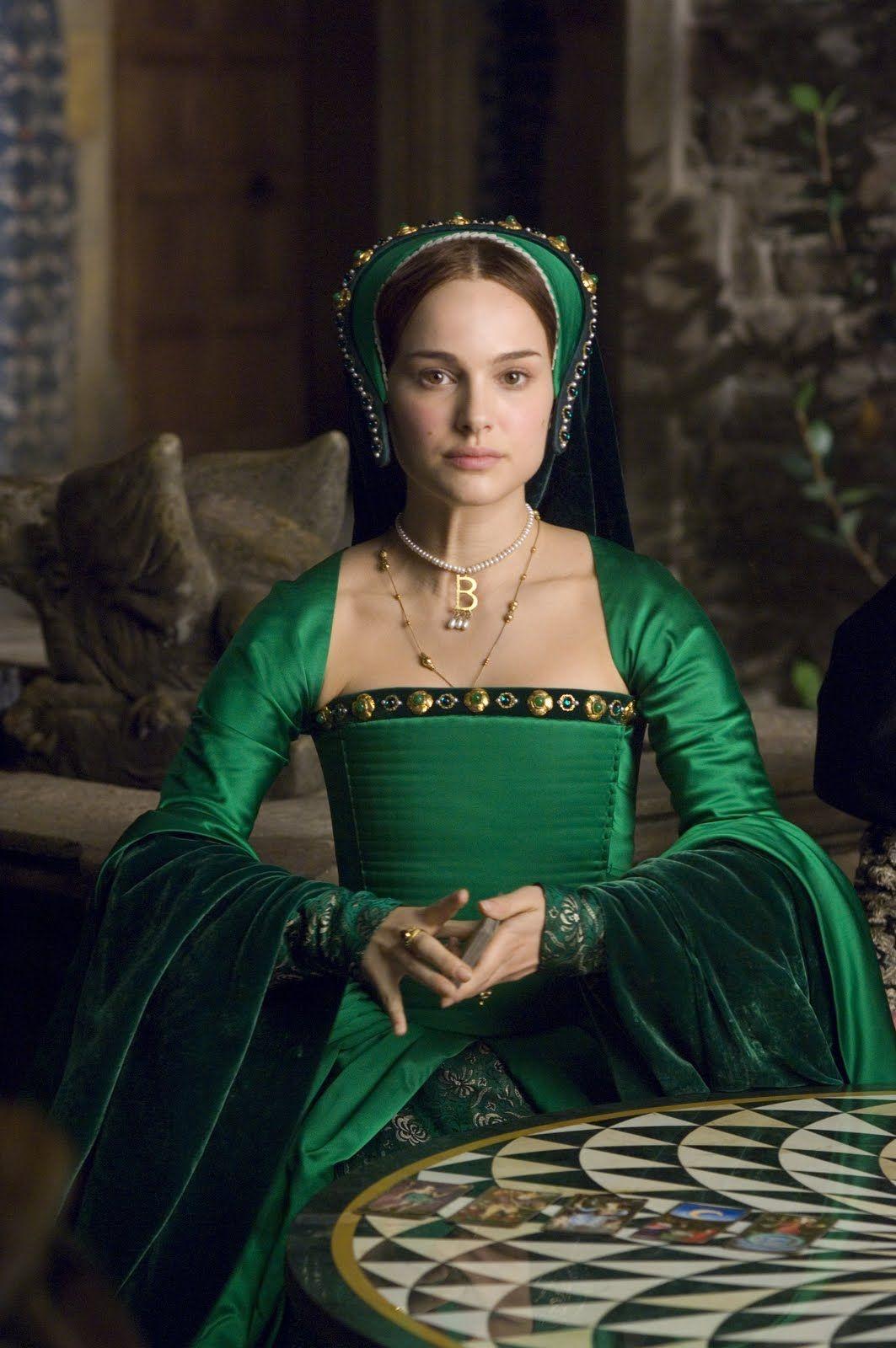 Wednesday Weekly Wishlist Anne S Green Gown The Other Boleyn
