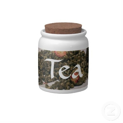 A Little Tea Jar Candy Jar