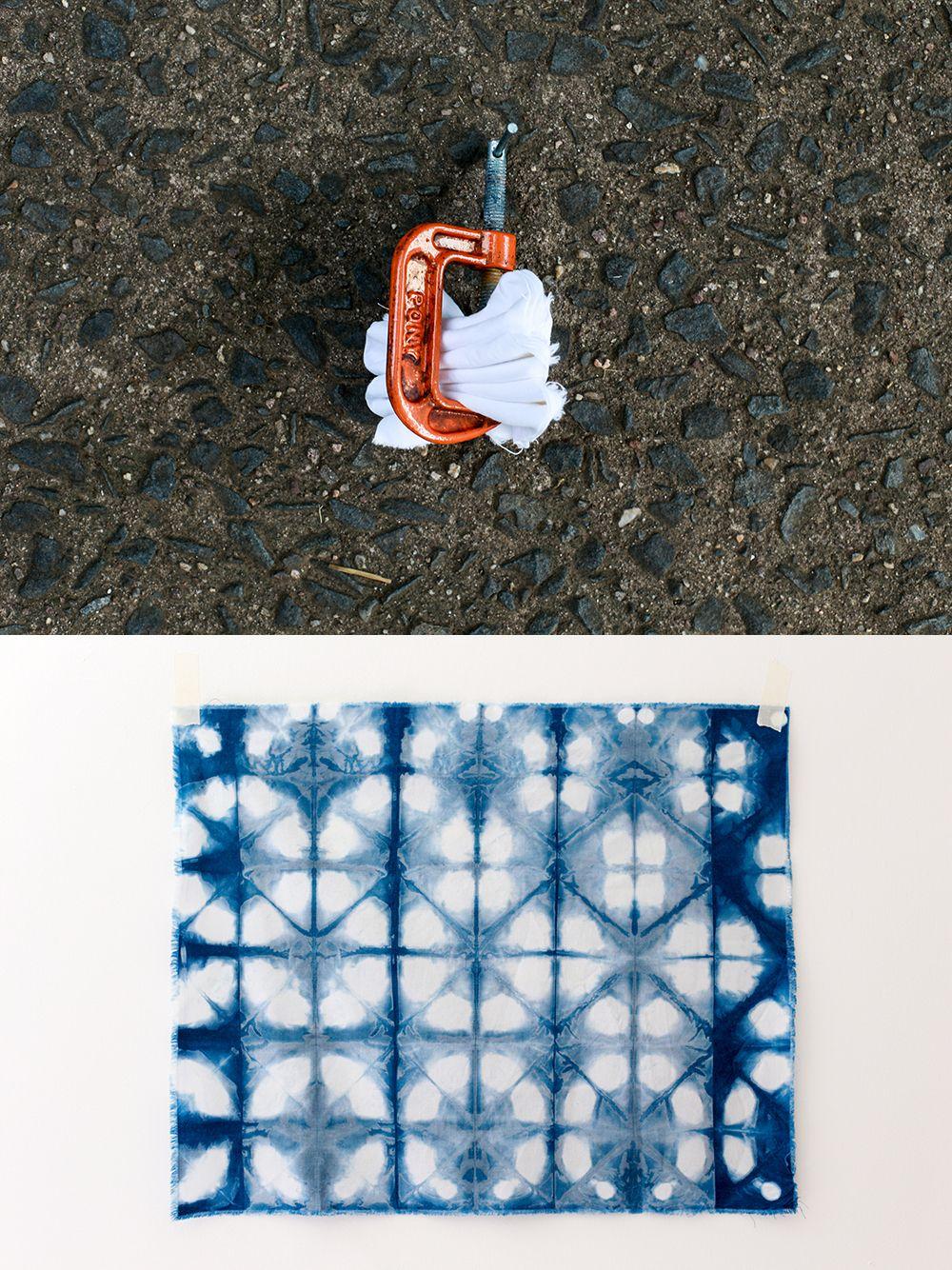 DIY Shibori Indigo Dyeing Tutorial #dyeingtutorials