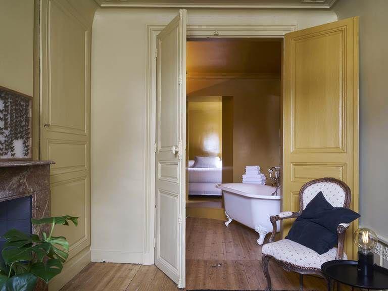 Chambres Pieux Montreuil France Architecture D Interieur Chambre Grande Chambre