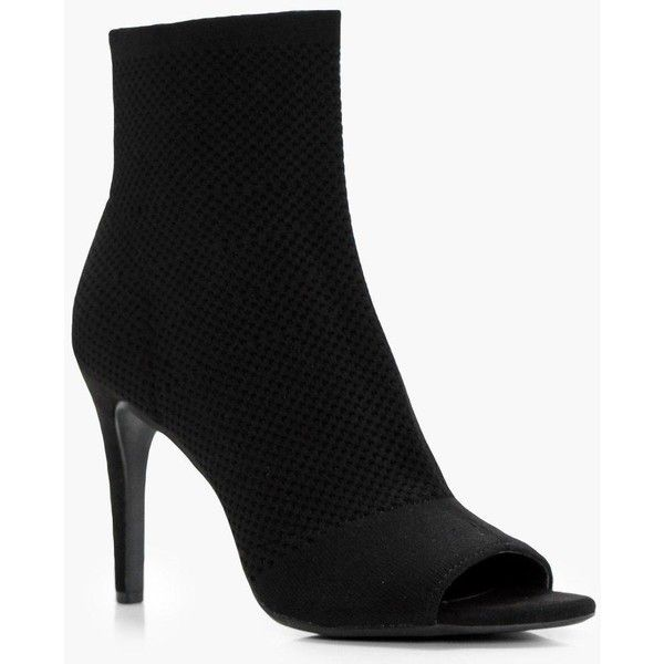 Montanna Mid Heel Knitted Shoe Boots ZoXFH