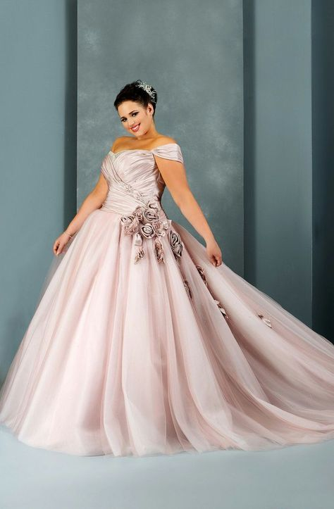 Vestido para gorditas de novia