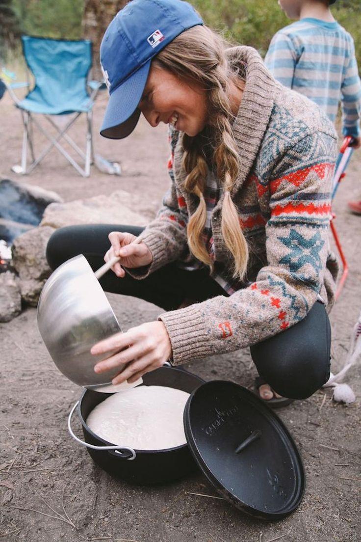 Camping fashion #camping #fashion ; camping mode ; mode camping ; moda de cam…