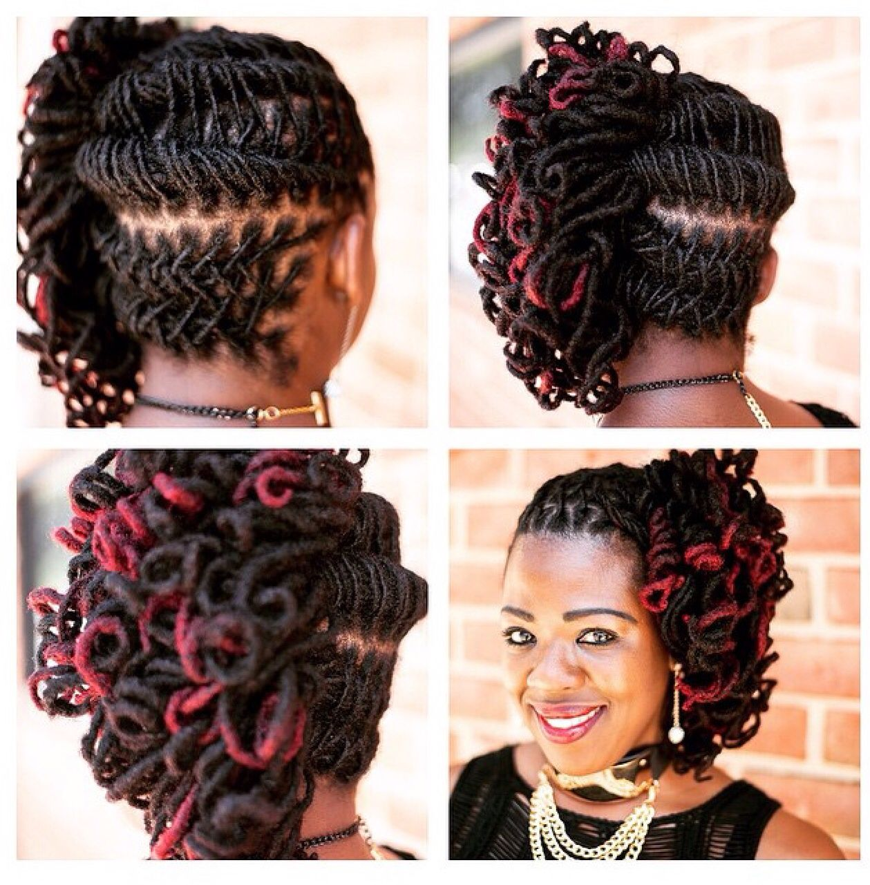 Love This Hair Style Too Locs Hairstyles Natural Hair Styles Hair Styles