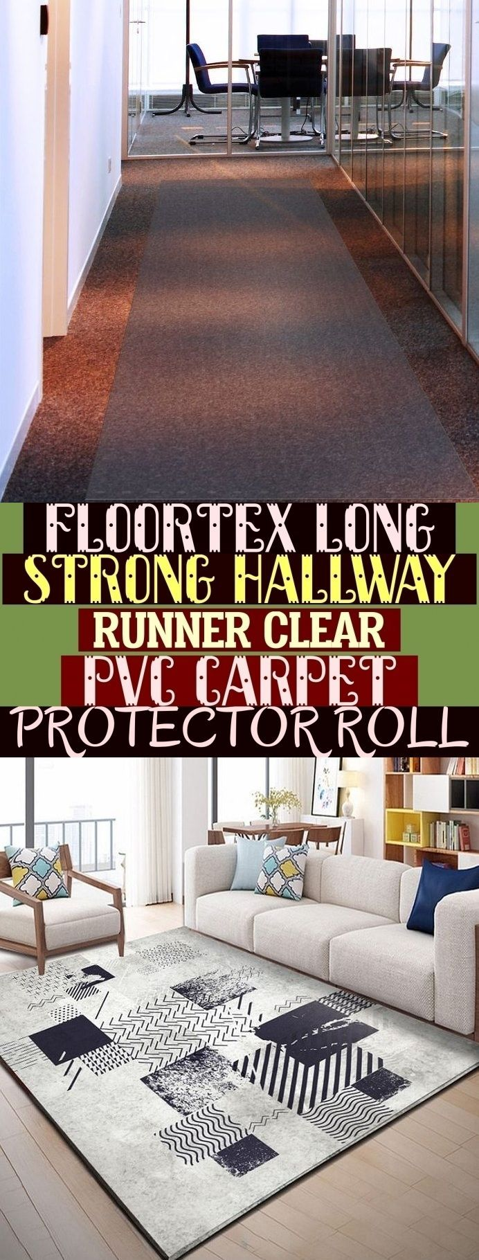 Floortex Long Strong Hallway Runner Clear Pvc Carpet Protector Roll Carpetfor Aubrie Nt Quos In 2020 Bohemian Living Rooms Indian Living Rooms Chic Living Room