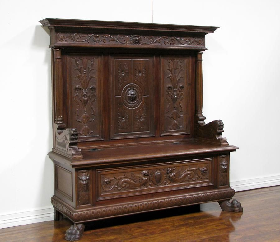Antique furniture - Impressive Recommendation Antique Hall Tree - Http://tvolymp.com